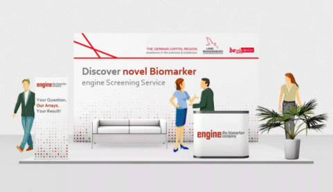 engine the biomarker company virtual booth at medica 2020