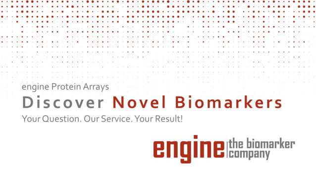 presentation engine biomarker discovery with protein arrays